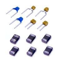 Цену уточняйте. керамические конденсаторы КМ 5 к10-17 чип импортные и отечественныеКМ 5А П33В 16 пФ (10